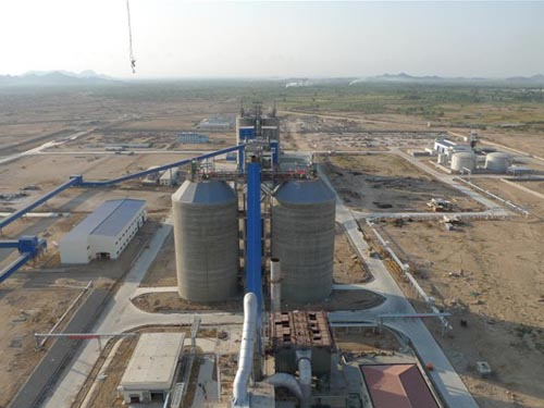 1,000,000Tons/Year Cement Grinding Plant