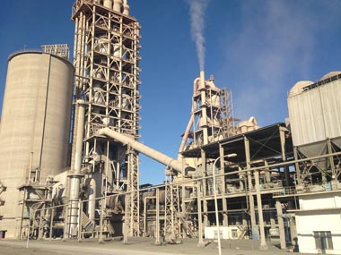Mainly Technological Process Of 5000t/D Cement Production Line