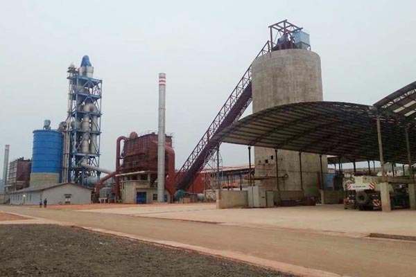 Congo (Brazza) FORSPAK Cement Production Line