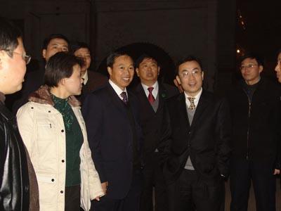 Leaders of China Building Materials Technology and Equipment Corporation